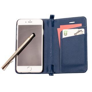 【iPhone6ケース】Su-Penホルダー付手帳型ケース+Su-Penスペシャルセット ディープブルー+ホワイトゴールド iPhone 6_2
