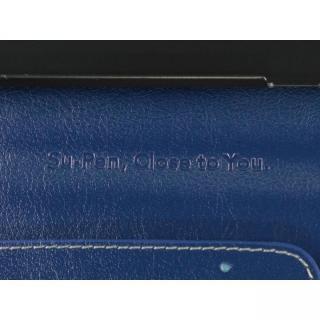 【iPhone6ケース】Su-Penホルダー付手帳型ケース+Su-Penスペシャルセット ディープブルー+ホワイトゴールド iPhone 6_5