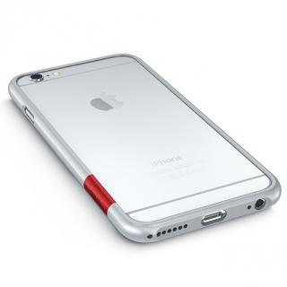 最薄1mmハードバンパーケース ThinEdge frame case マットシルバー iPhone 6