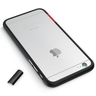 【iPhone6ケース】最薄1mmハードバンパーケース ThinEdge frame case マットブラック iPhone 6_2