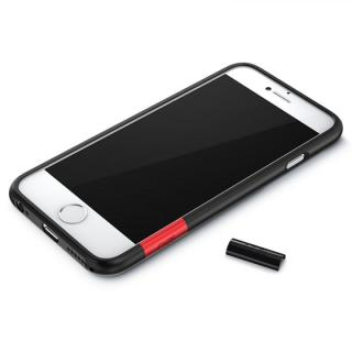 【iPhone6ケース】最薄1mmハードバンパーケース ThinEdge frame case マットブラック iPhone 6_3