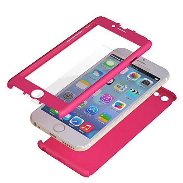 【iPhone6ケース】極薄ハードケース ZENDO Nano Skin ピンク iPhone 6_0