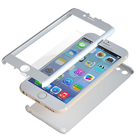 iPhone6 ケース 極薄ハードケース ZENDO Nano Skin ホワイト iPhone 6_0