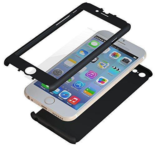 【iPhone6ケース】極薄ハードケース ZENDO Nano Skin ブラック iPhone 6_0