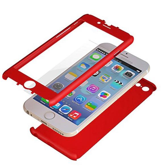 極薄ハードケース ZENDO Nano Skin レッド iPhone 6