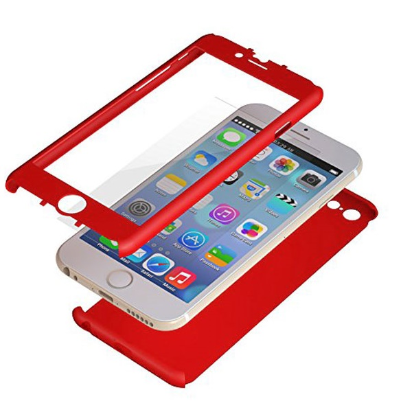 【iPhone6ケース】極薄ハードケース ZENDO Nano Skin レッド iPhone 6_0