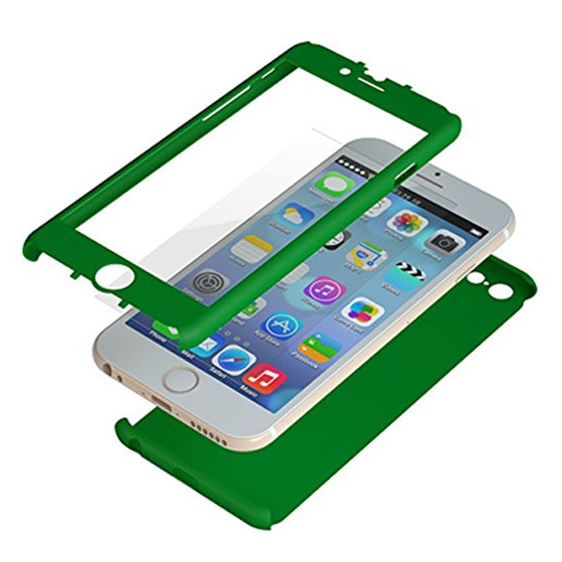 iPhone6 ケース 極薄ハードケース ZENDO Nano Skin グリーン iPhone 6_0