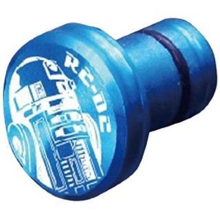 アルミイヤホンジャックカバー R2-D2 ブルー