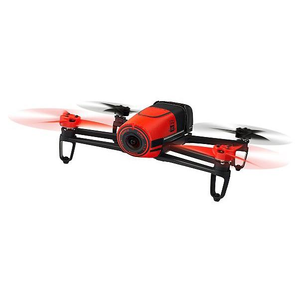 軽量クアッドコプター BEBOP DRONE レッド