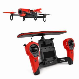 軽量クアッドコプター BEBOP DRONE レッド(コントローラーセット)