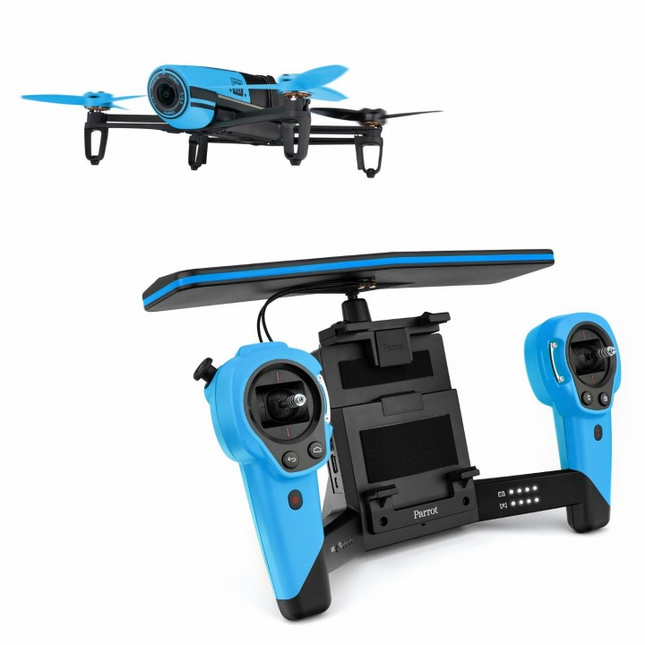軽量クアッドコプター BEBOP DRONE ブルー(コントローラーセット)_0