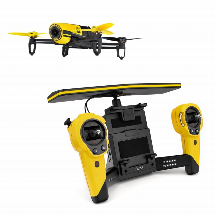 軽量クアッドコプター BEBOP DRONE イエロー(コントローラーセット)_0