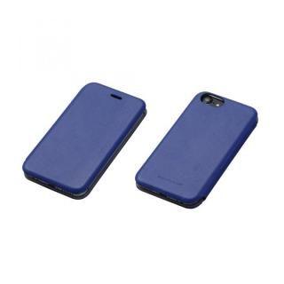 Deff 天然牛革手帳型ケース MASK ディープブルー iPhone 7/6s/6