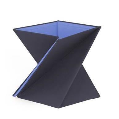 ひねってすぐ使える折りたたみ式スタンディングデスク LEVIT8 Sサイズ/パープル_0
