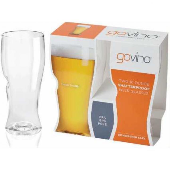 GOVINO ビアグラス 2個セット