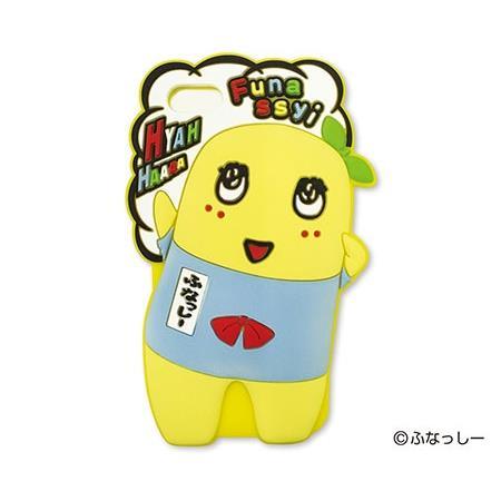 ふなっしー シリコンケース ヒヤッハー iPhone SE/5s/5