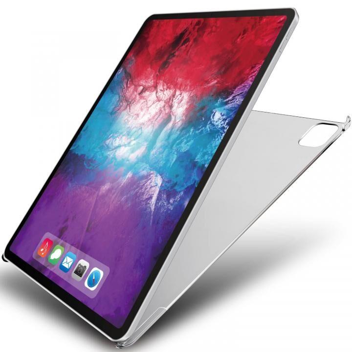 カバー ポリカーボネート製ハードケース スマートカバー対応 薄型 iPad Pro 2020 12.9インチ_0