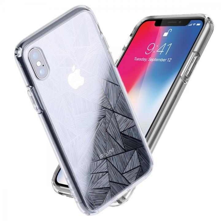 Athand シークレットシャイン ピュアクリア/トライアングル iPhone X
