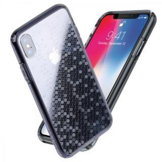 Athand シークレットシャイン グレークリア/ドット iPhone X