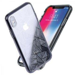 Athand シークレットシャイン グレークリア/トライアングル iPhone X