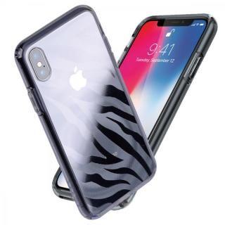 Athand シークレットシャイン グレークリア/ゼブラ iPhone X