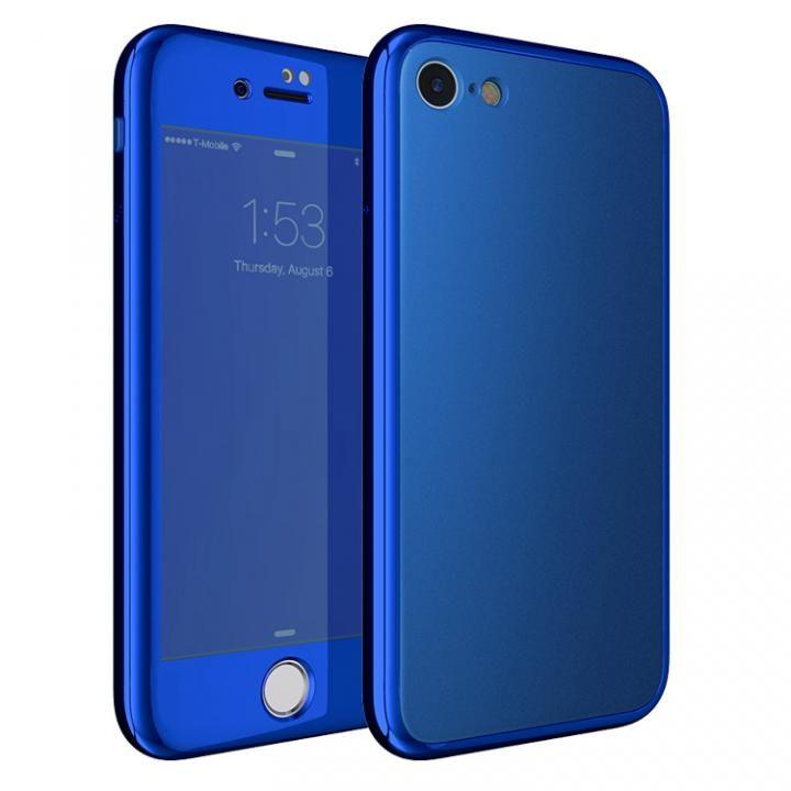 iPhone7 ケース [AppBank限定]Monolith7 フルカバーケース マットブルー_0