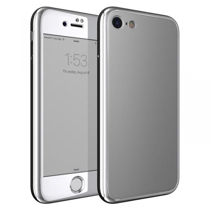 iPhone7 ケース [AppBank限定]Monolith7 フルカバーケース マットシルバー_0