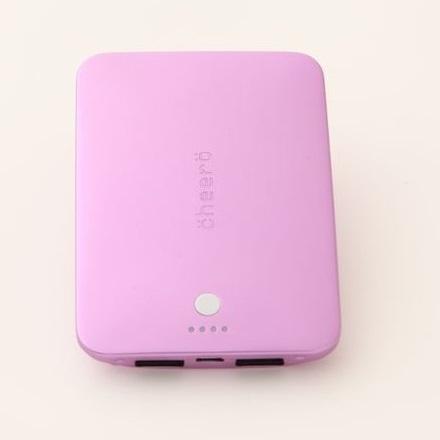 [4400mAh]cheero Palette モバイルバッテリー サクラ)_0