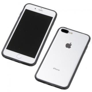 iPhone8 Plus/7 Plus ケース Deff アルミニウム/TPU 軽量バンパー AERO ブラック iPhone 8 Plus/7 Plus/6s Plus/6 Plus
