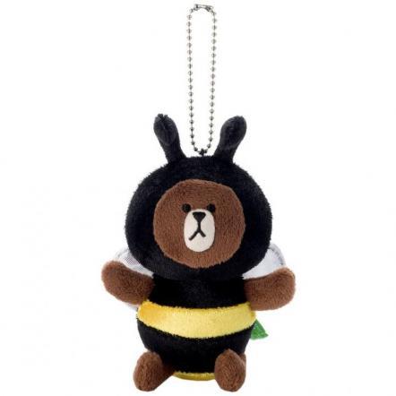 LINE ブラウン蜂/ぬいぐるみBC