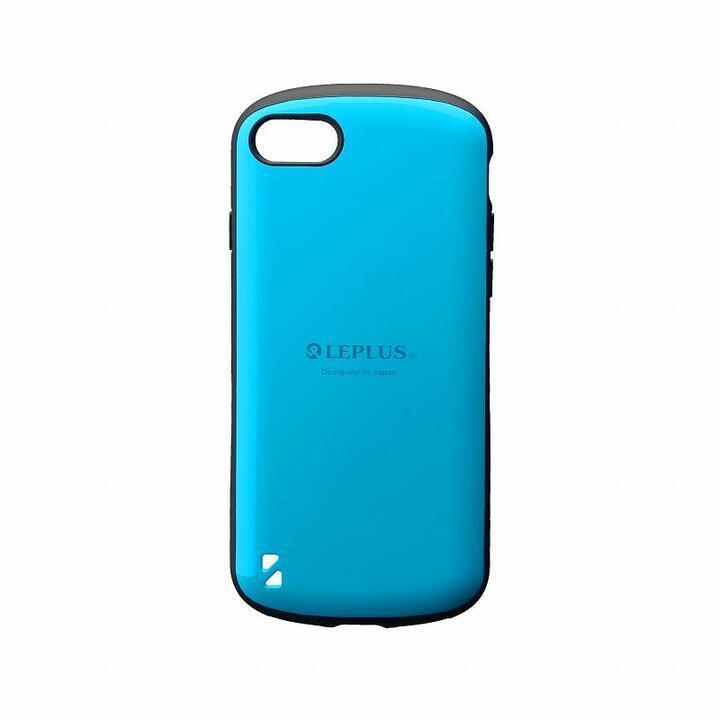 耐衝撃ハイブリッドケース「PALLET」 スカイブルー iPhone SE 第2世代_0