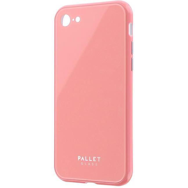ガラスハイブリッドケース「PALLET GLASS」 ピンク iPhone SE 第2世代_0