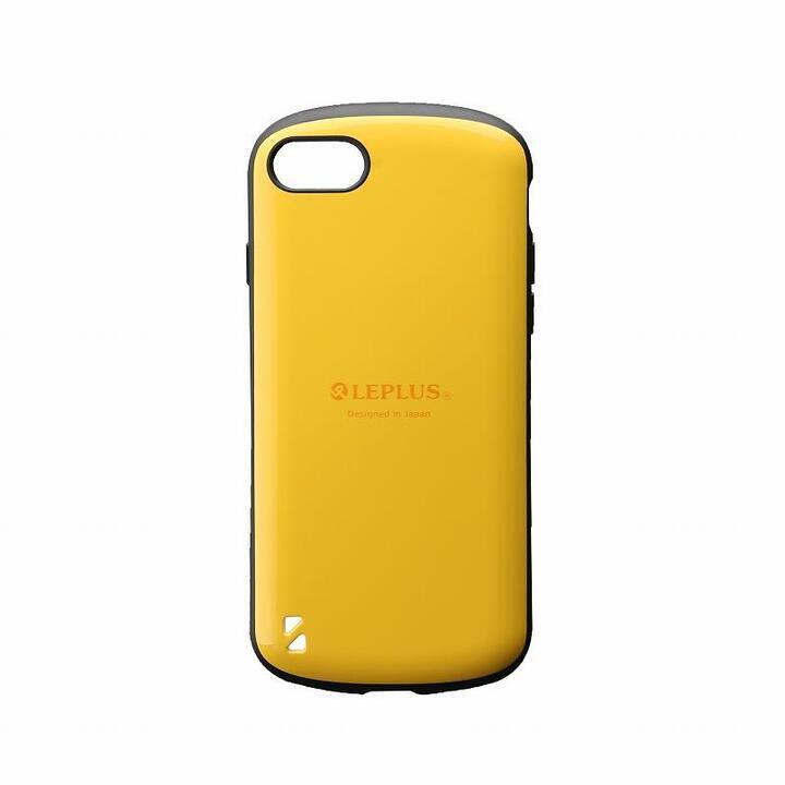耐衝撃ハイブリッドケース「PALLET」 イエロー iPhone SE 第2世代_0