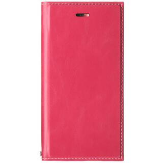 iPhone SE 第2世代 ケース 薄型PUレザーフラップケース「PRIME」 ピンク iPhone SE 第2世代