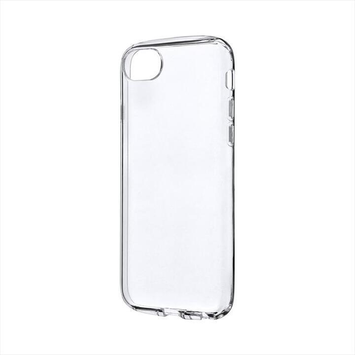 耐衝撃ソフトケース「CLEAR ROUND」 クリア iPhone SE 第2世代_0