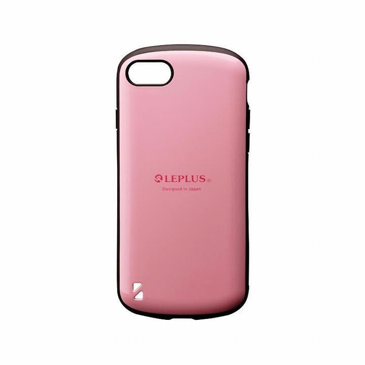 耐衝撃ハイブリッドケース「PALLET」 ピンク iPhone SE 第2世代_0