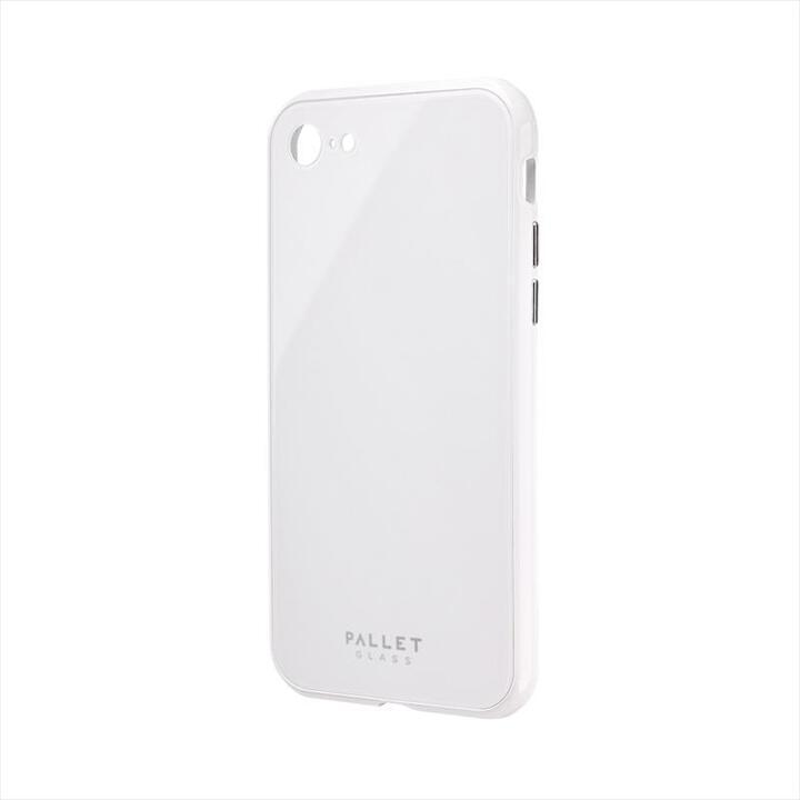 ガラスハイブリッドケース「PALLET GLASS」 ホワイト iPhone SE 第2世代_0