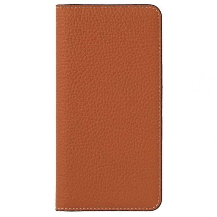 iPhone8/7 ケース LORNA PASSONI German Shrunken Calf Folio Case for iPhone 8/iPhone 7 [Orange]_0