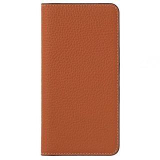 LORNA PASSONI German Shrunken Calf Folio Case for iPhone 8/iPhone 7 [Orange]