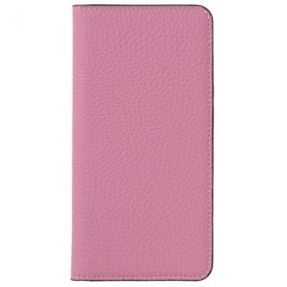 LORNA PASSONI German Shrunken Calf Folio Case for iPhone 8/iPhone 7 [Baby Pink]