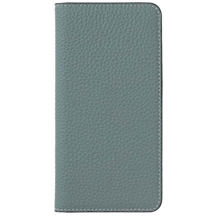 iPhone8/7 ケース LORNA PASSONI German Shrunken Calf Folio Case for iPhone 8/iPhone 7 [Light Blue]_0