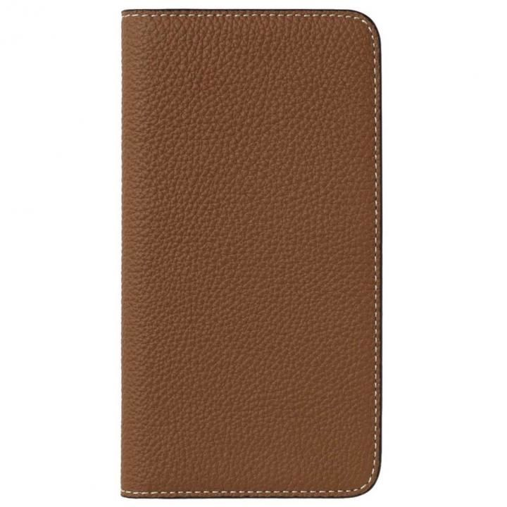 LORNA PASSONI German Shrunken Calf Folio Case for iPhone 8 Plus/iPhone 7 Plus [Teak]