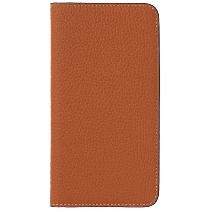 iPhone8 Plus/7 Plus ケース LORNA PASSONI German Shrunken Calf Folio Case for iPhone 8 Plus/iPhone 7 Plus [Orange]_0