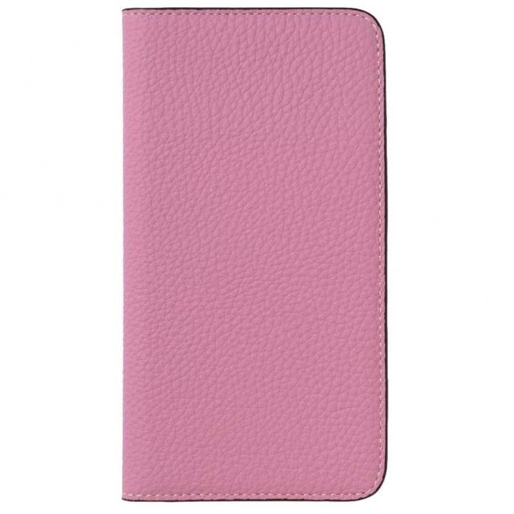 iPhone8 Plus/7 Plus ケース LORNA PASSONI German Shrunken Calf Folio Case for iPhone 8 Plus/iPhone 7 Plus [Baby Pink]_0