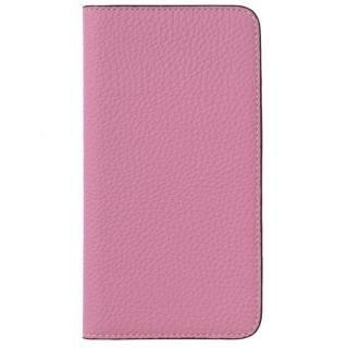 LORNA PASSONI German Shrunken Calf Folio Case for iPhone 8 Plus/iPhone 7 Plus [Baby Pink]