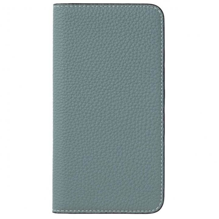 【iPhone8 Plus/7 Plusケース】LORNA PASSONI German Shrunken Calf Folio Case for iPhone 8 Plus/iPhone 7 Plus [Light Blue](拡大画像)