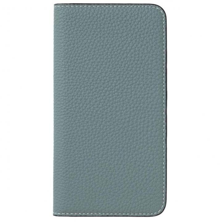 iPhone8 Plus/7 Plus ケース LORNA PASSONI German Shrunken Calf Folio Case for iPhone 8 Plus/iPhone 7 Plus [Light Blue]_0
