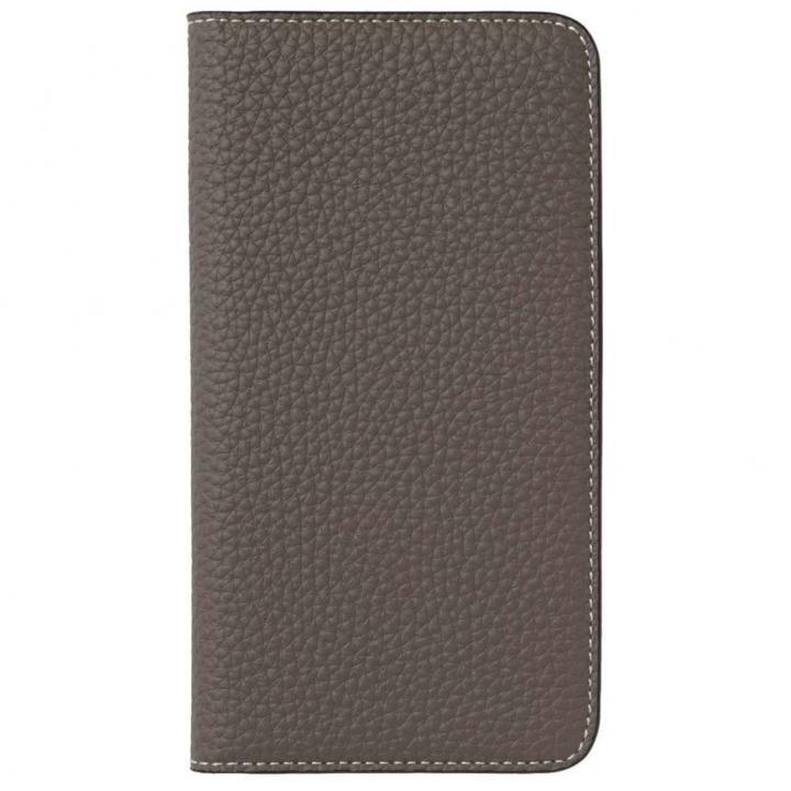 【iPhone8 Plus/7 Plusケース】LORNA PASSONI German Shrunken Calf Folio Case for iPhone 8 Plus/iPhone 7 Plus [Taupe]_0