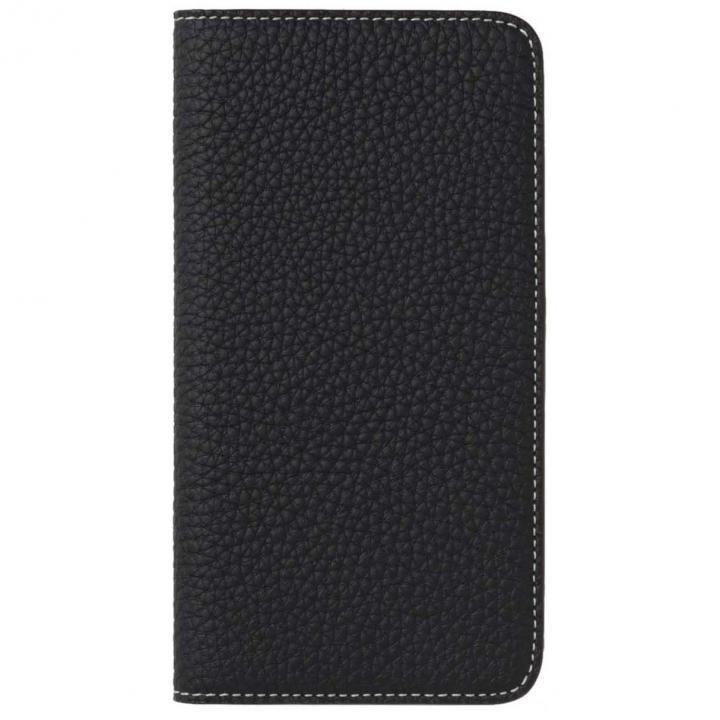 iPhone8 Plus/7 Plus ケース LORNA PASSONI German Shrunken Calf Folio Case for iPhone 8 Plus/iPhone 7 Plus [Dark Navy]_0