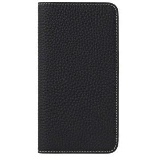 iPhone8 Plus/7 Plus ケース LORNA PASSONI German Shrunken Calf Folio Case for iPhone 8 Plus/iPhone 7 Plus [Dark Navy]【7月下旬】